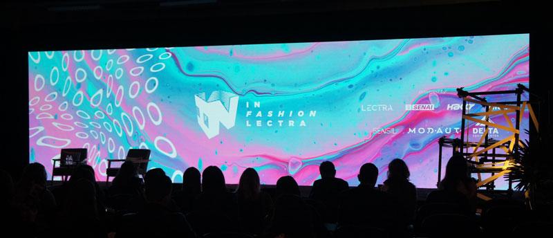 Fotografia da abertura do In Fashion 2019.